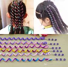 kids hair accessories diy kids hair rollers colorful hair curlers hair bands with