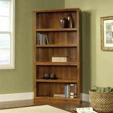 Cherry Wood Bookcase With Doors 3 Shelf Bookcase Sauder 5 Shelf Bookcase Select Cherry Sauder