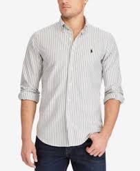 polo ralph lauren men u0027s slim fit long sleeve shirt casual button