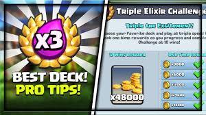 Challenge Tips Best Deck For Elixir Challenge In Clash Royale Pro Tips