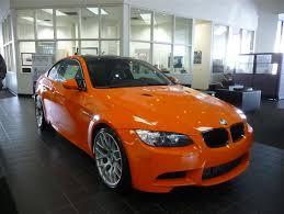 special color fire orange e92 m3 at nick alexander bmw