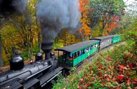 aboard west virginia train rides epic fall