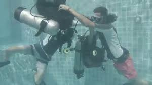 padi equipment exchange stress test divemaster course youtube