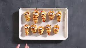 background for halloween menu fun halloween food idea stuffed pepper mummies sunset