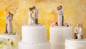 cake toppers wedding interesting ideas willow tree wedding cake topper skillful toppers