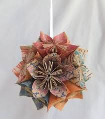origami tree ornament aftcra