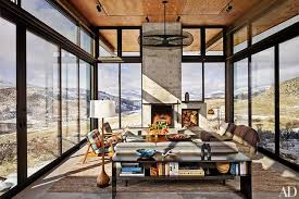 Mountain Home Interior Design Ideas 13 Rustic Mountain Homes Photos Architectural Digest