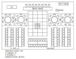 floor layout planner rectangle and circle wedding reception floor plan special event