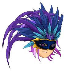 feather mask paraíso feather mask aqw