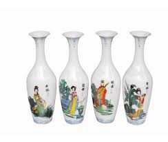 Chinese Hand Painted Porcelain Vases Use Chinese Vases In Decoration Home Design By John