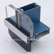 Unitized Curtain Wall Visible Aluminum Frame Glass Curtain Wall Cladding Global Sources