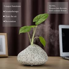 Essential Oil Amazon Amazon Com Essential Oil Diffuser Stone Grain Ultrasonic Cool