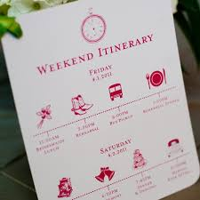 wedding itinerary template for guests itinerary template printable editable blank calendar 2017
