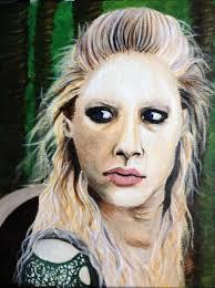 lagatha lothbrok hairstyle lagertha lothbrok painting progress by joymoonsong on deviantart