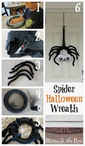 Halloween Spider Wreath by Diy Spider Halloween Wreath
