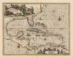 Map Of The Caribbean by Vintage Maps Of The Caribbean The Vintage Map Shop The Vintage