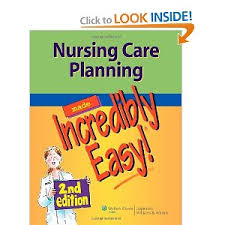 nursing care plans free care plan examples for a registered