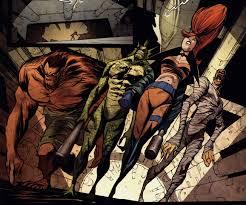 marvel comics u0027 the legion of monsters geek and sundry