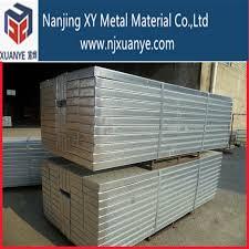 aluminum scaffolding plank with plywood aluminum scaffolding