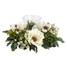 magnolia candelabrum silk flower arrangement free shipping today