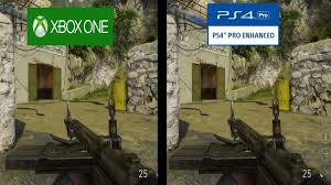 pubg xbox one x graphics call of duty wwii beta graphical comparison xbox one s vs ps4