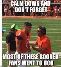 Oklahoma State Memes - mike gundy oklahoma state foitball memes imgflip