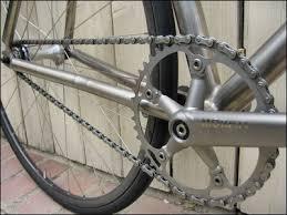 titanium chain rings images Pedal damn it blackbird custom merlin track bike jpg