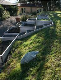raised flowers u0026 vegetable beds on a slope part shade this is