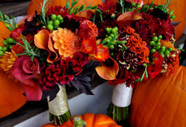 fall bridal bouquets simple fall wedding bouquets wedding party decoration