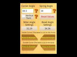 how to cut angles in front corners of hair miter saw settings android apps on google play