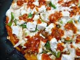Pizza Cottage Coupons by Thin Crust Pan Pizza Cottage Cheese And Capsicum Recipe Paperblog