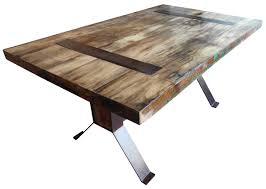 reclaimed dining table reclaimed wood dining table chevron