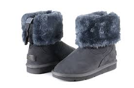 ugg boots bailey bow schwarz sale