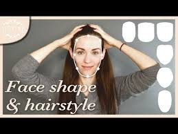 hair cut with a defined point in the back good hairstyles for your face shape how to determine your shape