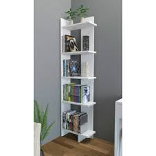 Corner Ladder Bookcase Corner Bookcases You Ll Wayfair