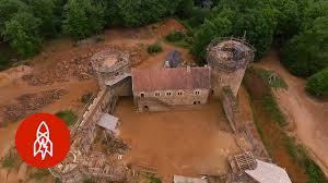 building a medieval castle with centuries old techniques youtube