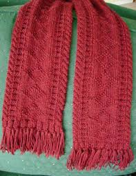 How To Make Handmade Rugs Knitting Hints How To Make And Attach Fringe Tassels To A Scarf