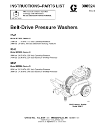 ryobi 3100 psi pressure washer manual pressure washer users guides from