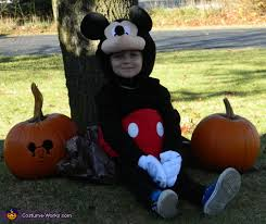 Mickey Mouse Toddler Costume Mickey Mouse Halloween Costume