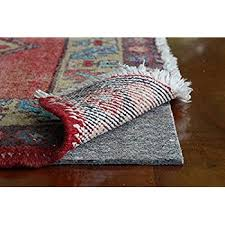 amazon com 5 x 7 ultra plush non slip rug pad for surfaces