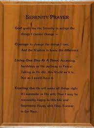 wood plaque serenity prayer wood plaque serenity prayer wall hanging