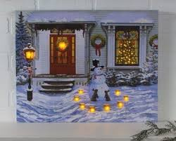 lighted canvas art with timer 47 best radiance lighted christmas canvas images on pinterest