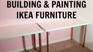 Painting Ikea Furniture by Building U0026 Painting Ikea Furniture Studio U0026 Office Makeover