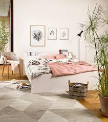 Schlafzimmer Auf Rechnung Kaufen Micasa Schlafzimmer Mit Boxspring Bett Blau Und Bank Blau Aus