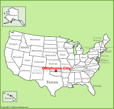 Texas Cities Map Oklahoma Texas Map With Cities My Blog