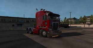 latest kenworth trucks kenworth k200 v12 truck ats mod american truck simulator mod