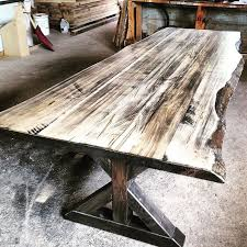Make Your Own Reclaimed Wood Desk by Best 20 Rustic Wood Tables Ideas On Pinterest U2014no Signup Required