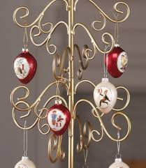 ornament display tree gold scroll 20 tree ornament trees