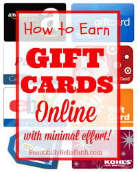 earn gift cards how to earn gift cards online with minimal effort using swagbucks