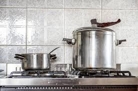 cuisine autocuiseur vintage de fond de cuisine d autocuiseur image stock image du